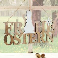 Deko-Objekt Frohe Ostern