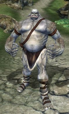 Oblivion had so much better enemies than Skyrim. An ogre could kick a dragon's ass any day of the week. Elder Scrolls Lore, Oblivion, Skyrim, Garden Sculpture, Beast, Video Games, Batman, Superhero, Enemies