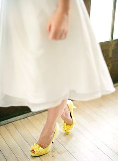 We can help you plan every aspect of your Kent Wedding. Featuring upcoming Wedding Fairs in Kent, Meet Wedding Suppliers, Find you Dream Kent Wedding Venue, and get inspired! Yellow Wedding Shoes, Yellow Wedding Colors, Wedding Shoes Bride, Yellow Theme, Yellow Shoes, Bride Shoes, Wedding Favours, Bow Wedding, Wedding Fair