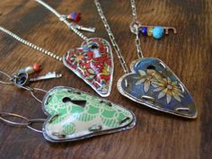 recycled metal jewelry