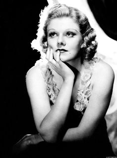 Dedicated to the original blonde bombshell Jean Harlow. Old Hollywood Glamour, Golden Age Of Hollywood, Classic Hollywood, In Hollywood, Lana Turner, Jean Harlow, Marilyn Monroe, Madonna, Hooray For Hollywood