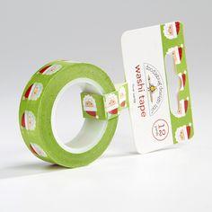 Dear Santa Washi Tape from Oh! Naif.