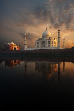 """Taj Mahal"", Monument in Agra, India - Wonders of the World/Maravillas del mundo, monumento Places Around The World, The Places Youll Go, Places To See, Around The Worlds, Taj Mahal India, Goa India, North India, Delhi India, Beautiful World"