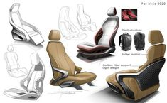 car seats sketch - Cerca con Google