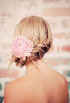 Wedding Hairstyles, Wedding Up Do, Wedding Braided Hair, Wedding Hair With Flowers, Braided Hair