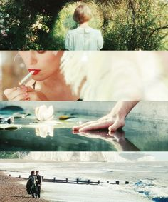 Atonement // loved this movie and the brilliant cinematography.