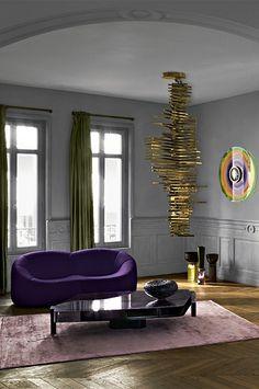 Pumpkin Sofa by Pierre Paulin Live Beautifully! www.lignerosetsf.com #Home #LigneRosetSF #Interior #LigneRoset #Homedecor #Interiordream