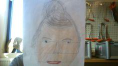 eigen portret maken van iemand.
