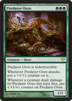 Magic The Gathering Dark Ascension: Predator Ooze Card Kingdom
