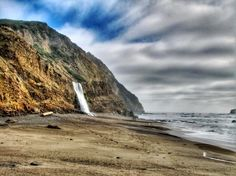 105 world's most amazing waterfalls: Alamere Falls, California, USA