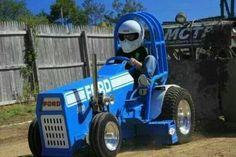 Garden tractor puller
