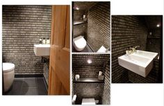 Small understairs toilet
