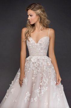 Courtesy of Hayley Paige Wedding Dresses; www.jlmcouture.com/hayley-paige; Wedding dress idea. #Weddingsoutfit