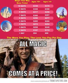 All magic comes at a price! this is more funny to me than it should be...
