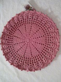 No Pattern - maallure Crochet Kitchen, Crochet Home, Love Crochet, Knit Crochet, Crochet Flower Patterns, Doily Patterns, Crochet Flowers, Lace Doilies, Crochet Doilies
