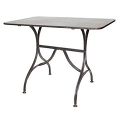 French Metal Bistro Table