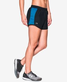 Under Armour Fly By Running Shorts - Black XL