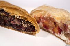 Szilvás-túrós és szilvás-mákos rétes ~ Receptműves Fudge, Sandwiches, Beef, Meat, Ox, Paninis, Ground Beef, Steak