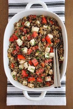 Quinoa-and-Lentil-Salad | Green Valley Kitchen