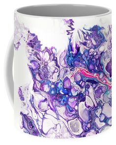 Fluid Acrylic Purple Fantasy Coffee Mug for Sale by Jenny Rainbow Mugs For Sale, Fluid Acrylics, Fine Art Photography, Coffee Mugs, Tapestry, Rainbow, Fantasy, Purple, Unique