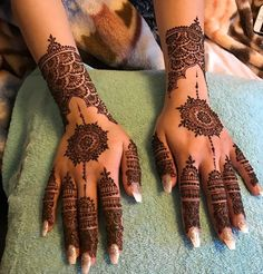 Most Elegant And Adorable Bridal Mehndi Designs Full Hands 2019 Henna Hand Designs, Eid Mehndi Designs, Mehndi Designs Finger, Mehndi Design Photos, Wedding Mehndi Designs, Mehndi Designs For Fingers, Mehndi Patterns, Beautiful Henna Designs, Simple Mehndi Designs