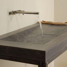 Concrete Alpine Bathroom Sink