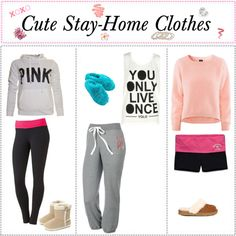"""Cute Outfits for Stay-Home Lazy Days"""