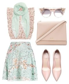 """Untitled #132"" by airarizti on Polyvore featuring MSGM, Kate Spade, Jimmy Choo and Furla"