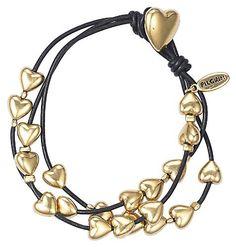 Pilgrim Damen-Armband  Leder  gold 610-902 von Pilgrim, http://www.amazon.de/dp/B004BM2NIA/ref=cm_sw_r_pi_dp_mp4nsb1YVK7JV
