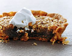Maple Sugar Tartlets Recipe  at Epicurious.com