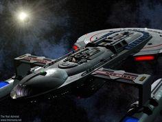 futuristic battleships   Star Trek Props: Remen Pistols
