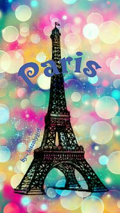 Paris bokeh galaxy wallpaper I created for the app CocoPPa.