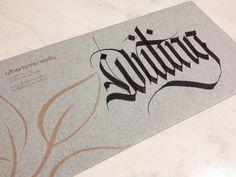 Writing • Calligraphy on Envelopes. Busta Gmund 17 Colors © 2014 alberto manzella. Tutti i diritti riservati #gmund #gmund paper #gmund envelopes #gmund colors #calligrafia #calligraphy