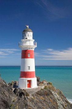 Cape Palliser Lighthouse (1897), Wairarapa, North Island, New Zealand