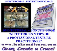 A half price creative comb mud texturing DVD / e-book tutorial download it instantly