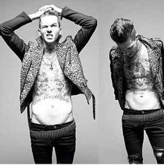 He's got a hot bod. | Why Jesse Rutherford Should Be Your Newest Crush
