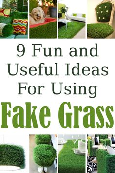9 Fake Grass Project