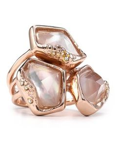 Alexis Bittar Liquid Gold Molten Stacked Ring  Bloomingdale's