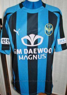 Incheon United Casa camisa de futebol 2005