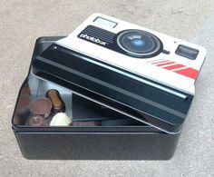 Boite à biscuits Polaroid #miam