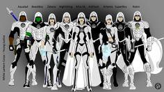 White lantern Young justice corps aqualad beast boy zatana nightwing miss martian kid flash artemis superboy robin