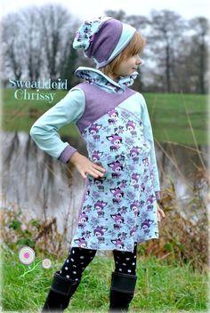 E-Book Sweatkleid Chrissy 98/104-158/164 - Nähanleitungen bei Makerist