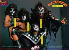 kiss hotter than hell tour   Kiss Poster Hotter Than Hell   eBay