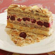 Torte Recepti, Kolaci I Torte, Sweet Recipes, Cake Recipes, Dessert Recipes, Easy Baking Recipes, Cooking Recipes, Croatian Recipes, Homemade Cakes