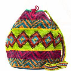 Large - Oax Mochila Bag – www.wayuutribe.com #wayuubags #mochilaswayuu #beachbags #surfergirl
