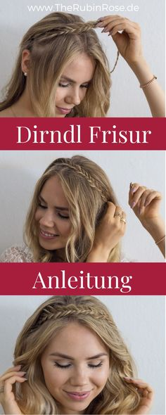 Die 160 Besten Bilder Von Frisuren Zum Dirndl Make Up Braid Und