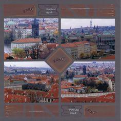 Vue sur Prague   Azza - Leader du scrapbooking