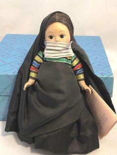 "Madame Alexander 8"" Egypt Girl Doll #543 Restrung with Box and Hang Tag #MadameAlexander"