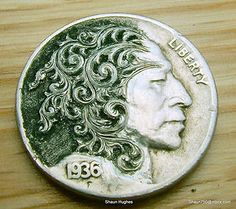 171 Best hobo nickels images in 2012 | Hobo nickel, Coin art