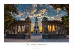 Parque Del Retiro. Madrid, Spain